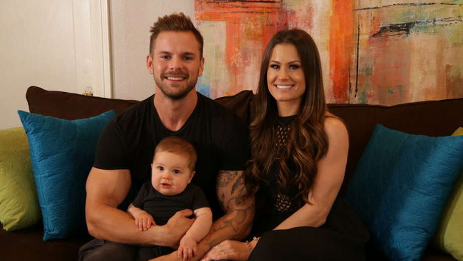 Houstonians Brooke Adams and Weston Wayne Piper are featured on Season 2 of TLC's Rattled with son Jace. Adams is a former pro wrestler, and Piper owns a construction company. Photo: TLC / Discovery Communications