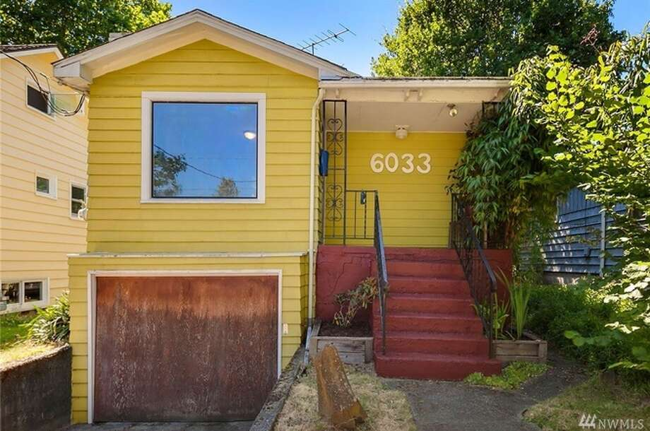The first home, at 6033 Seventh Ave., is listed for $400,000. The two-bedroom, one-bathroom home is in Ballard.The home has an unfinished basement and an attached garage. There will be a showing for this home on Saturday, July 15, and Sunday, July 16, from 1 p.m. to 4 p.m. You can see the full listing here. Photo: Listing Courtesy Peggy Frasse, Windermere Real Estate Co