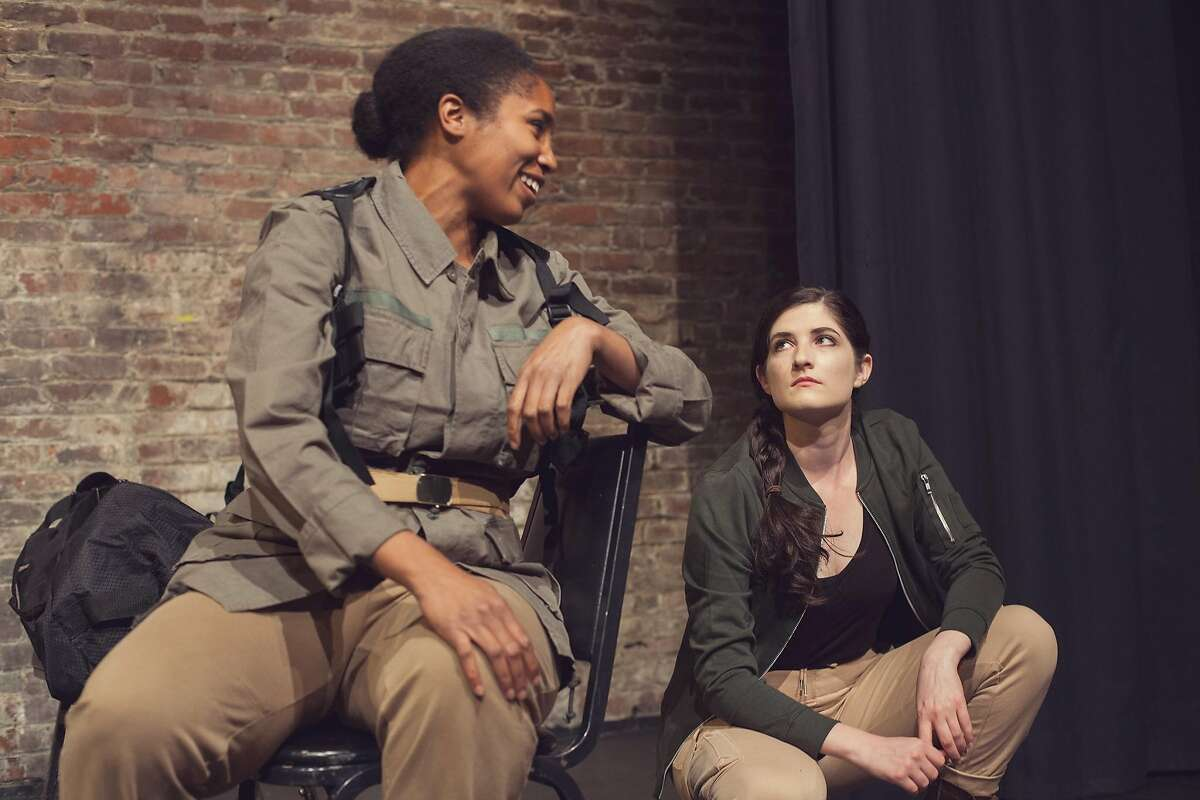 Yemonja Stanley (l.) and Katie Nix in