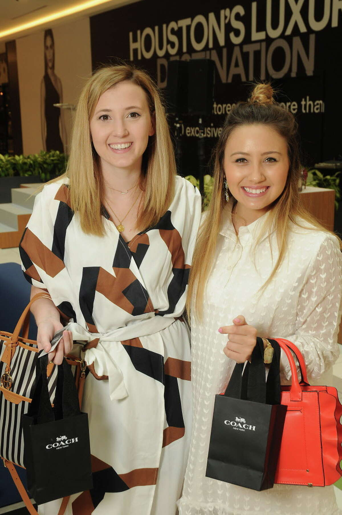 """Haley Freytag and Kristine Pagel during the Galleria IV's """"Influencer"""" event."""