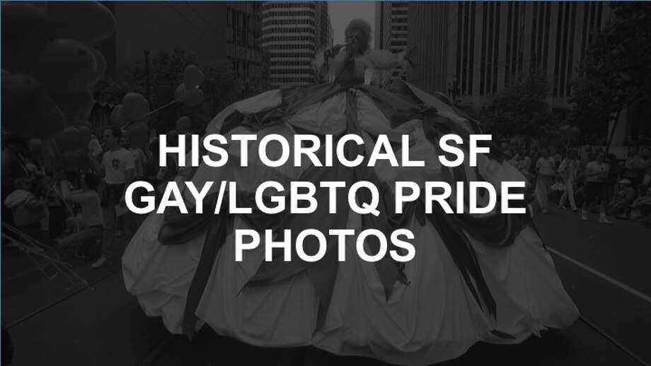 Click through this slideshow to see the historical San Francisco gay/LGBTQ Pride photos.