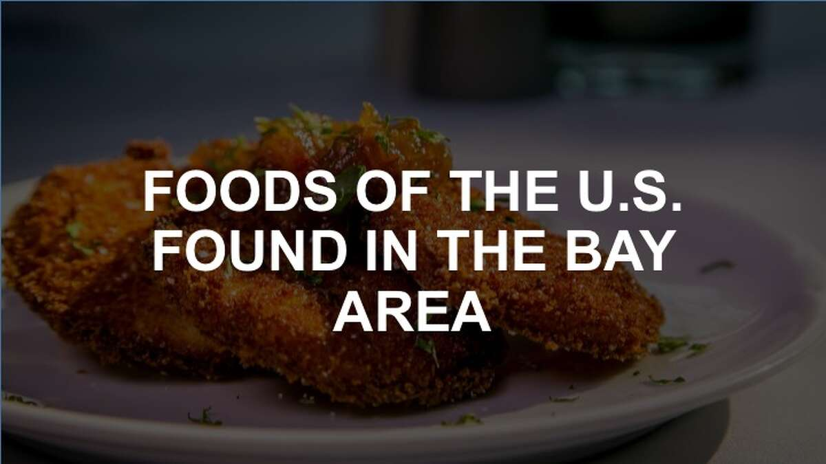 Click through the following slideshow to see the foods of the United States found in the Bay Area.