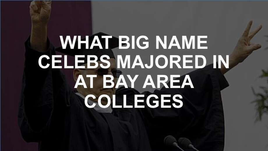 Click through the following slideshow to see what big name celebrities and athletes majored in at Bay Area colleges.
