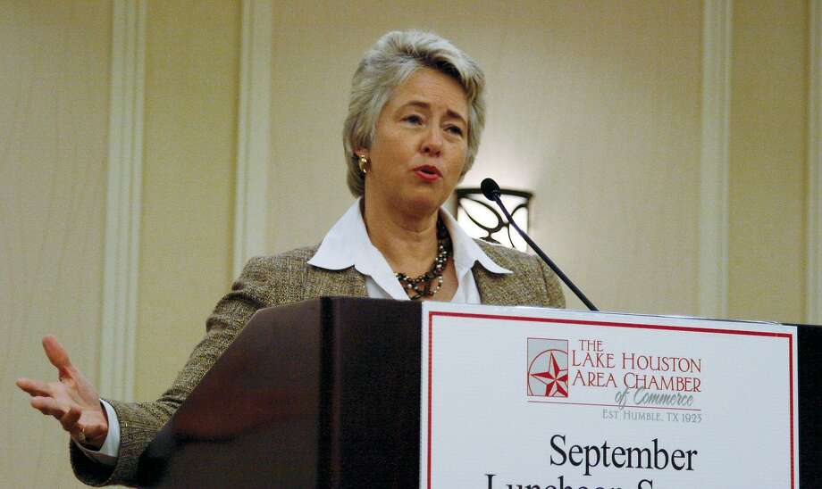 Houston Mayor Annise Parker instituted benefits for same-sex couples married in other states in 2013. The Texas Supreme Court recently ruled on the case, but this ruling was wrongly construed as against the benefits. Photo: JENNIFER SUMMER /The Observer / The Observer