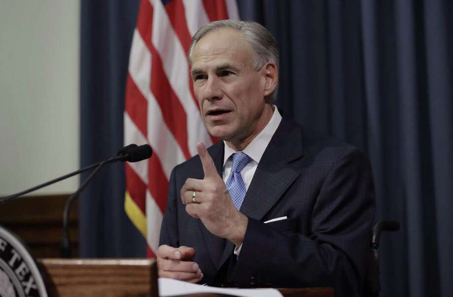 Texas Gov. Greg Abbott announces on June 6 that there will be a special session of the Texas Legislature, starting Tuesday. Among the fears of what this session will bring are restrictions on local tree ordinances. Photo: Eric Gay /Associated Press / Freelance