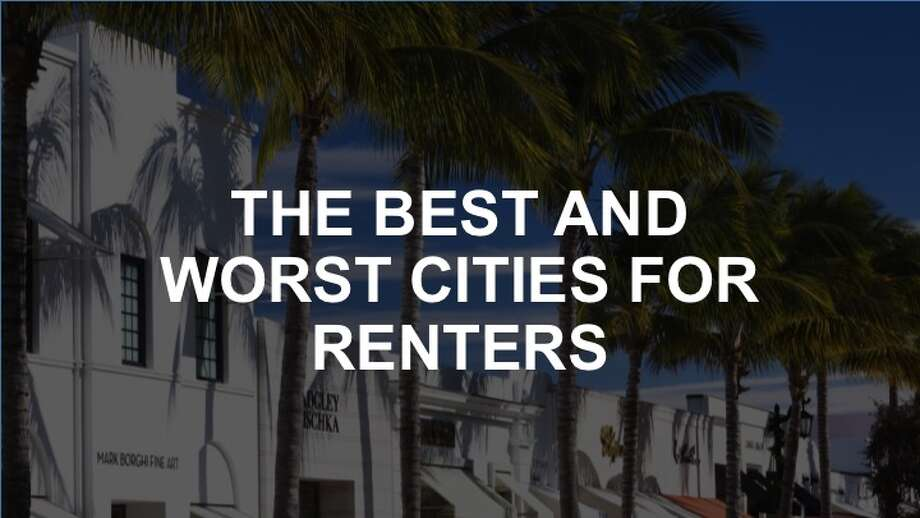 Click through this slideshow to see the best and worst cities for renters.