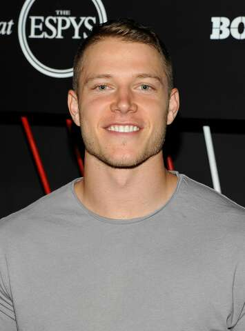 6e828bf41 NFL player Christian McCaffrey at BODY at ESPYS at Avalon on July 11, 2017  in