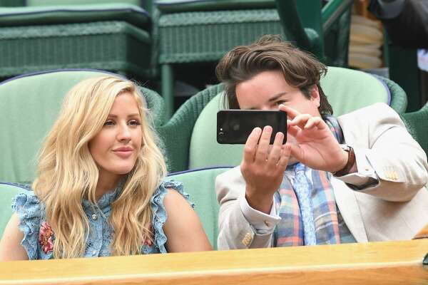 Celebrities Spotted In The Stands At Wimbledon
