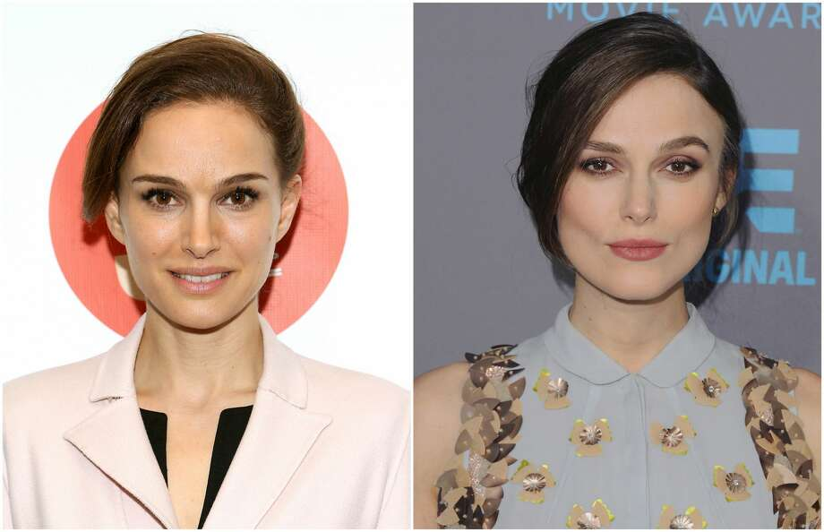 """Natalie Portman and Keira Knightley These ladies were almost indistinguishable in their """"Star Wars"""" roles. The only difference is that one — Portman — was a queen. Photo: Getty"""