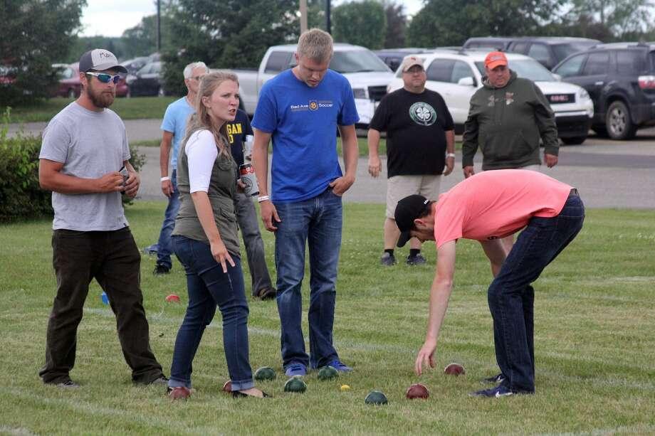 Hatchet Fest Bocce Ball 2017 Photo: Seth Stapleton/Huron Daily Tribune