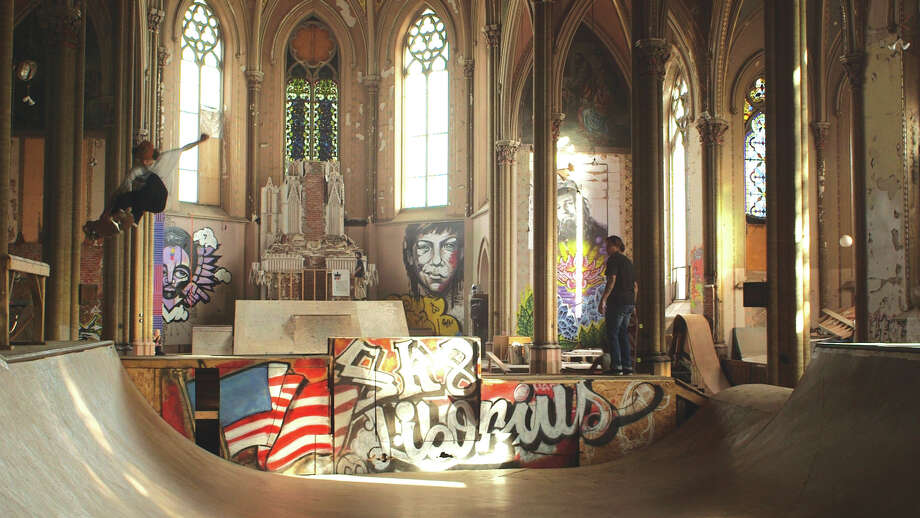 """""""Sanctuary"""" is a short film about an abandoned church in St. Louis now used as a skate park. Photo: For The Intelligencer"""