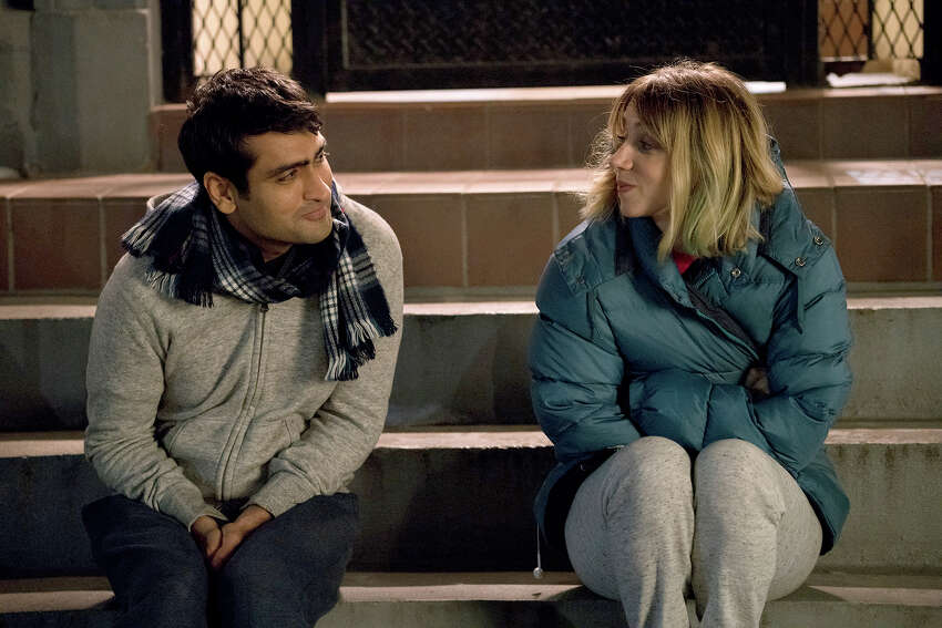 In this image released by Lionsgate, Kumail Nanjiani, left, and Zoe Kazan appear in a scene from,