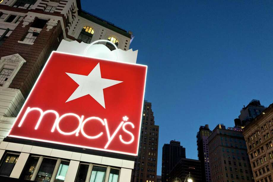 "The Macy's flagship store is in New York. Americans curtailed their shopping in June, with less spending at restaurants, department stores and gasoline stations.  The spending pullback came despite a healthy job market and suggests that economic growth could remain sluggish. Retail sales fell 0.2 percent after declining 0.1 percent in May, the Commerce Department said Friday. Spending at retailers has grown 2.8 percent over the past 12 months, a relatively modest pace given that the sales figures aren't adjusted for inflation. Michael Dolega, a senior economist at TD Bank, called the report ""a disappointment as far as the resilience of the consumer is concerned."" The decline reflects in part a transformative shift by consumers toward Amazon and other online retailers. Sales at department stores, once the anchors of shopping malls and the pride of local communities, have dwindled. The rise of online shopping has left more retailers competing on price or striving to offer deeper discounts - factors that can limit overall sales figures. 2017. At a time when bricks and mortar stores are crateringÑwith household names like MacyÕs and J.C. Penney shuttering dozens of stores, dollar stores have largely weathered seismic shifts in consumer habits and fierce competition from online retailers. (Demetrius Freeman/The New York Times) Photo: Mark Lennihan, STF / Copyright 2017 The Associated Press. All rights reserved."
