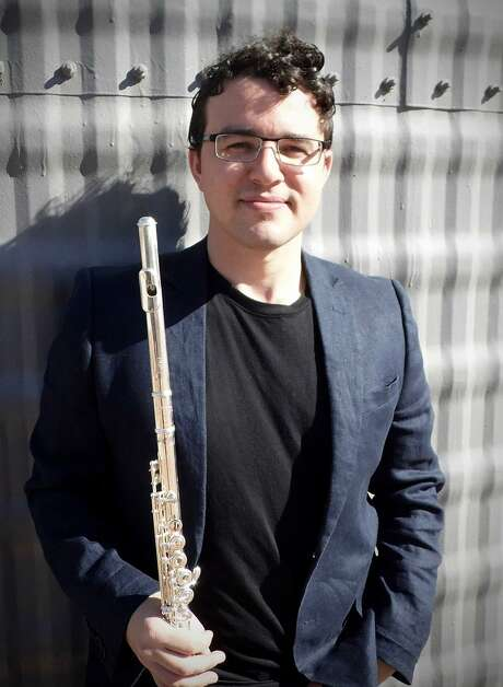 San Antonio Symphony principal flute Mark Teplitsky performed Saturday night during a Cactus Pear Music Festival concert. Photo: Courtesy Photo / / Copyright 2012