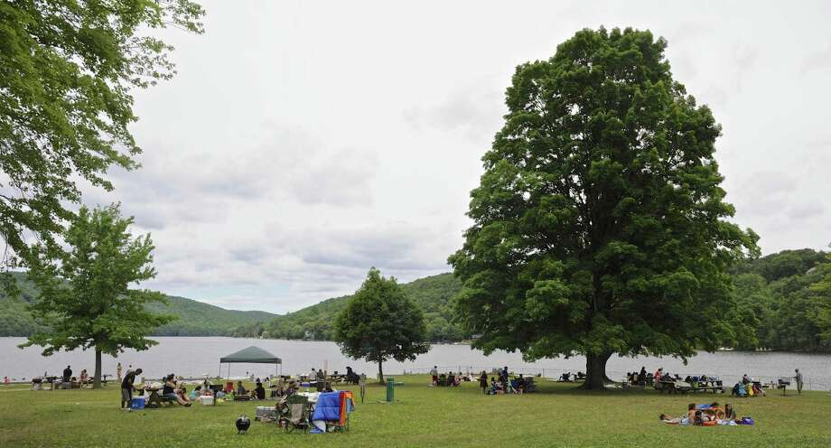 Squantz Pond State Park, in New Fairfield, on the first day of the Forth of July Holiday weekend. Saturday, July 2, 2016, in New Fairfield, Conn. Photo: H John Voorhees III / Hearst Connecticut Media / The News-Times