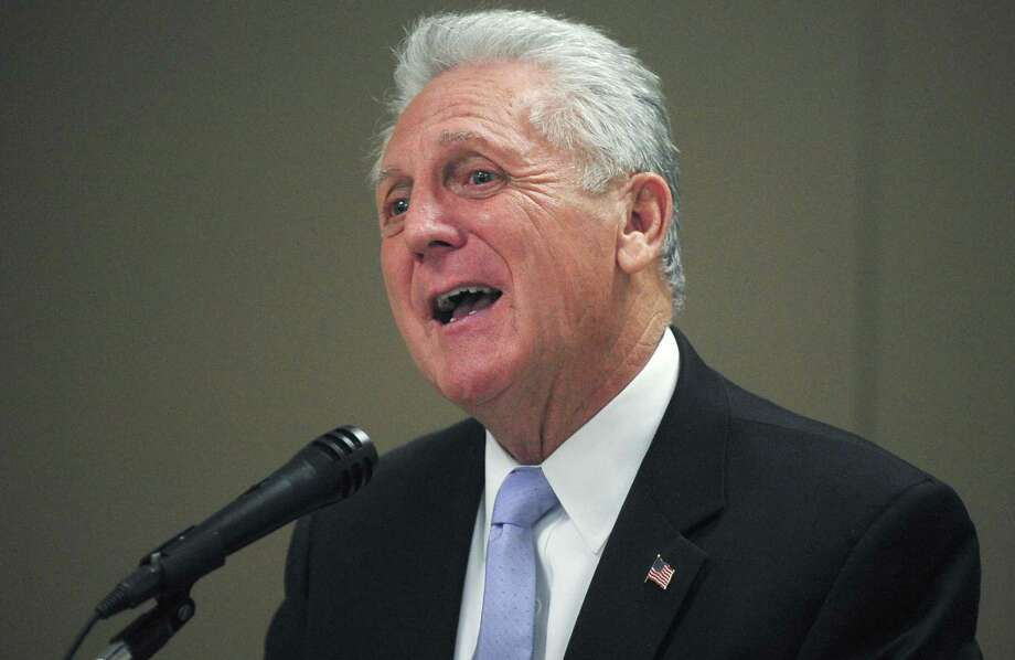 Norwalk Mayor Harry Rilling has received thousands of dollars in contributions from developers for his re-election campaign. Photo: Erik Trautmann / Hearst Connecticut Media File / Norwalk Hour