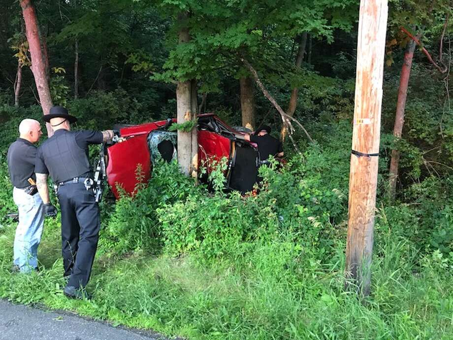 Cops: Speed likely as Copake driver strikes boulder, trees - Laredo