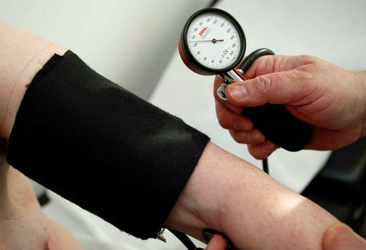Men (average age of 50) with a diastolic blood pressure of 90 to 114 had a five-year risk of heart attack or stroke of about 50 percent.