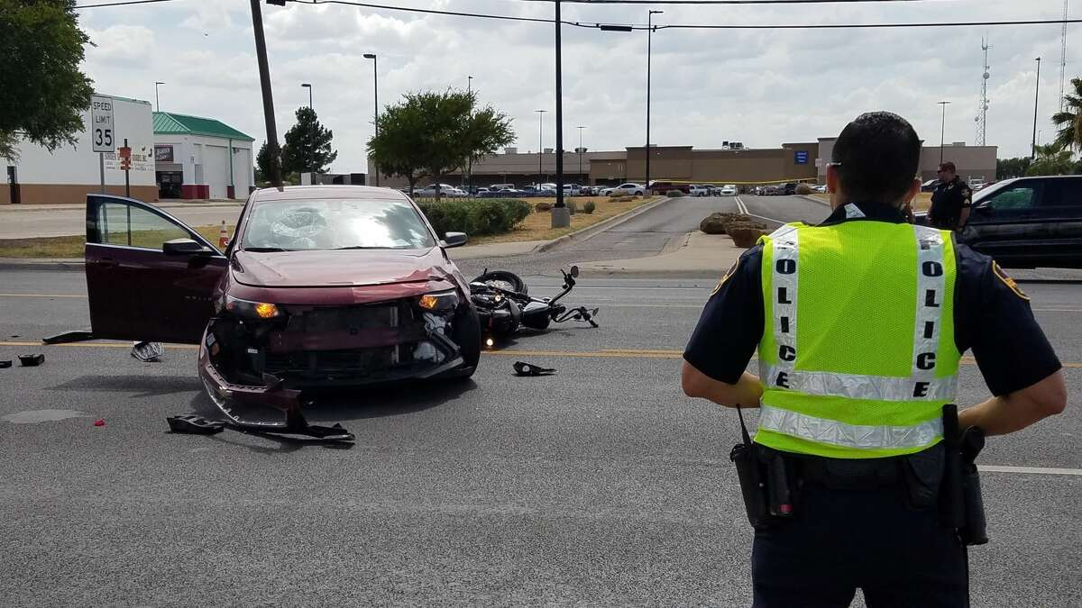 EMS crews and Laredo police responded to an auto-pedestrian incident at the 4800 block of San Bernardo Avenue. The collision happened between a motorcycle and a Chevy Malibu.