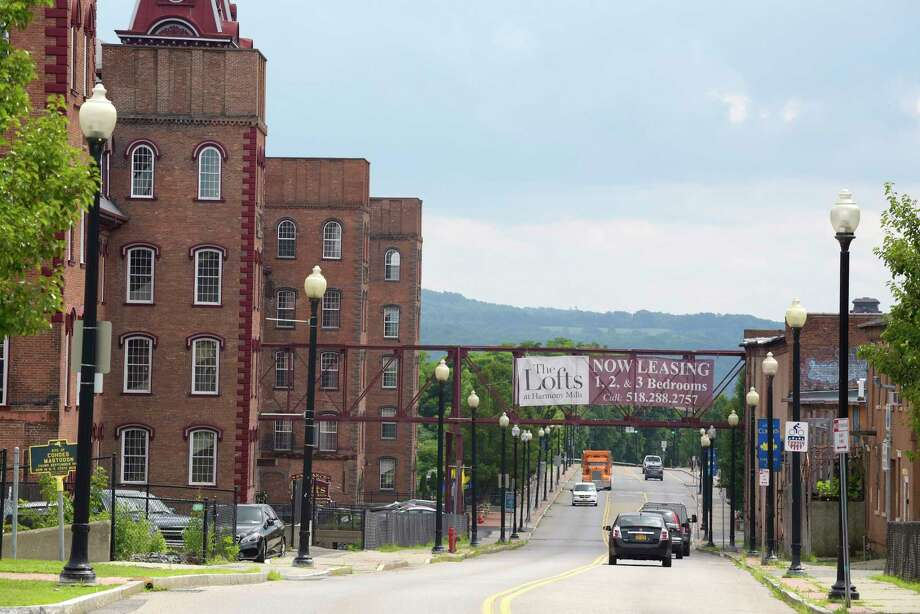 A view of The Lofts at Harmony Mills on Tuesday, July 11, 2017, in Cohoes, N.Y.  (Paul Buckowski / Times Union) Photo: PAUL BUCKOWSKI / 40041028A