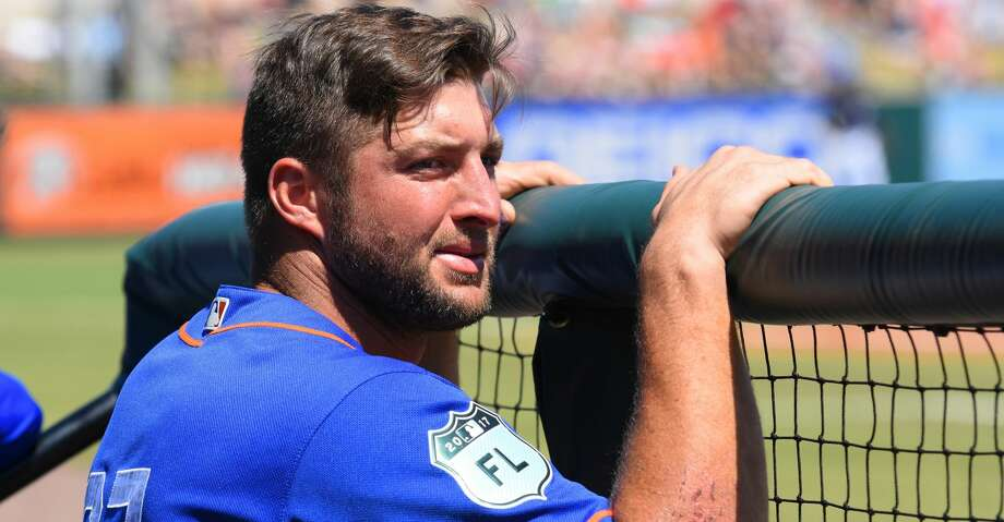 Tim Tebow isn't going to make his big league debut this season, no matter what speculative fans and arm chair scouts say on Twitter. Photo: Mark Cunningham/MLB Photos Via Getty Images