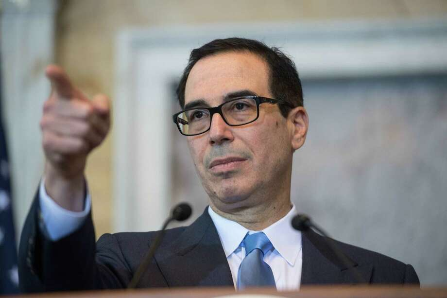 US Treasury Secretary Steven Mnuchin. The Treasury just announced an end to an Obama-era program to help workers save for retirement. Photo: NICHOLAS KAMM, Contributor / AFP or licensors