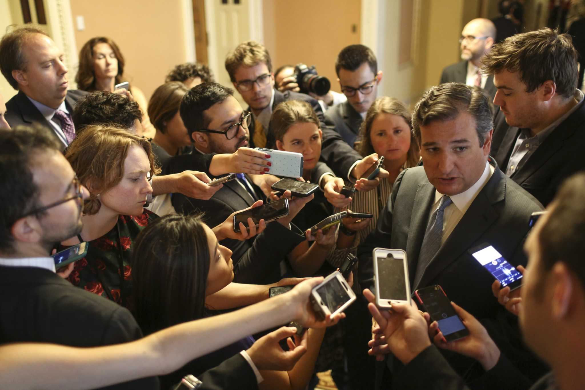 How Health Care Bill Could Sideswipe >> Cruz Amendment Would Bisect Health Care Market Experts Say San