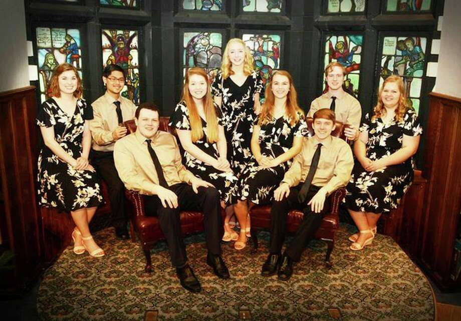 New Song, a psalm-singing choral ensemble from Geneva College in Pennsylvania, will sing in Midland.
