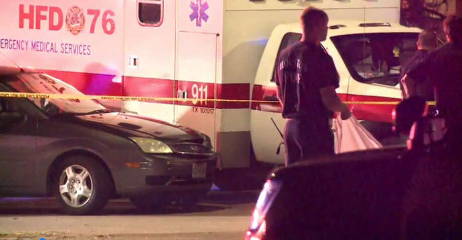 A man on a bicycle was fatally shot early Sunday morning. Photo: Metro Video