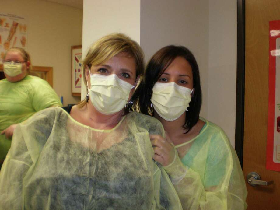 Phlebotomy students at the Griffin Hospital School of Allied Health Careers in Derby, Conn. Photo: Contributed Photo / Contributed Photo / Connecticut Post Contributed