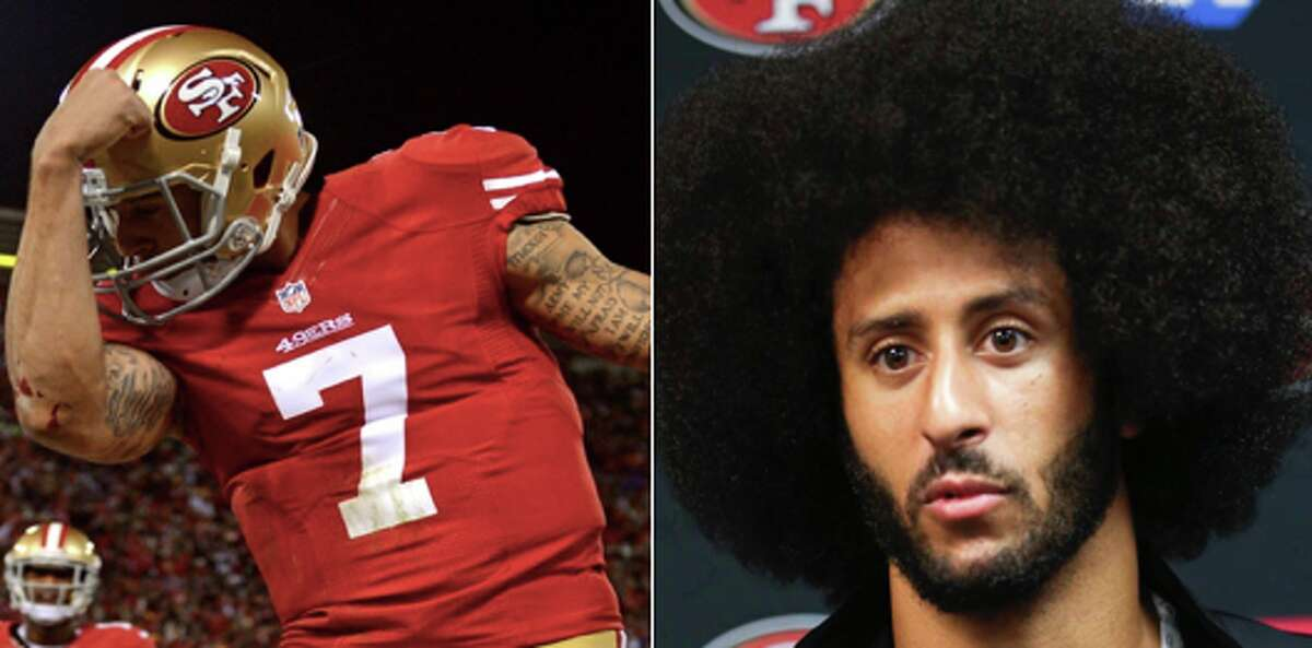 Colin Kaepernick: Currently unsigned, played with the 49ers in 2016 The controversial quarterback still has yet to find a new team. Joe Montana believes Kaepernick is unsigned because he isn't good enough, but Steve Young disagrees.
