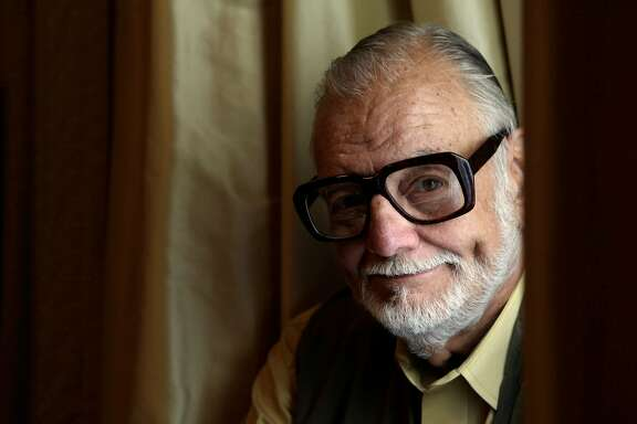 "Director George Romero sits for a portrait in San Francisco, Calif. on Thursday May 13, 2010.  Romero, is director of ""Night of the Living Dead"" and ""Dawn of the Dead"" and his latest ""Survival of the Dead."""