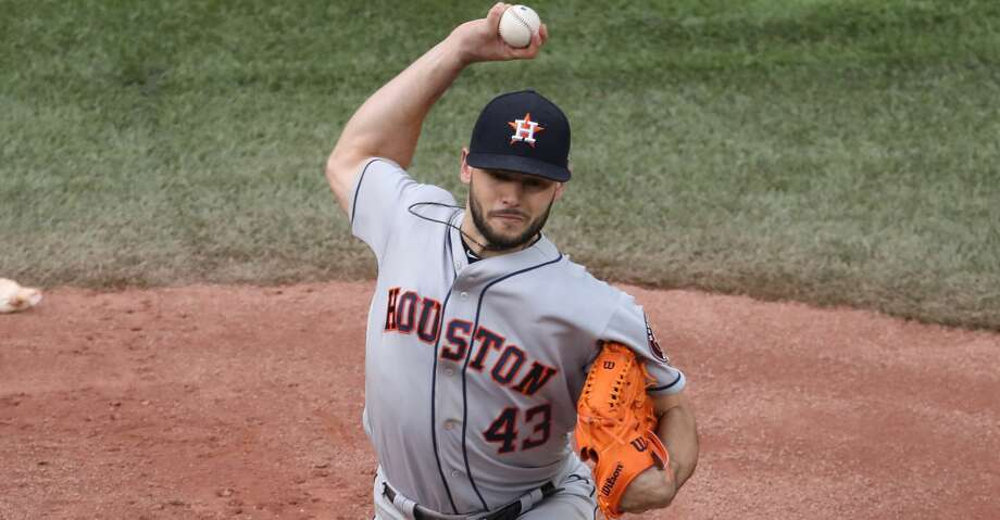 Astros starter Lance McCullers takes the mound Monday to kick off a three-game series against the Mariners. Photo: Tom Szczerbowski/Getty Images