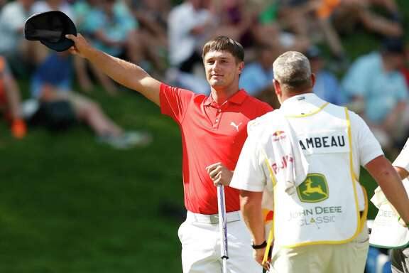 Hats off to Bryson DeChambeau, who earned his first PGA Tour win at the John Deere Classic in Silvis, Ill.