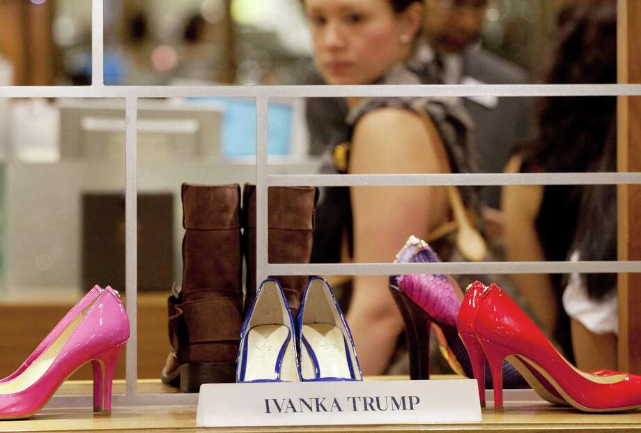 The clothing line of Ivanka Trump relies exclusively on foreign factories in such countries as Bangladesh, Indonesia and China. Photo: Mark Lennihan, STF / AP
