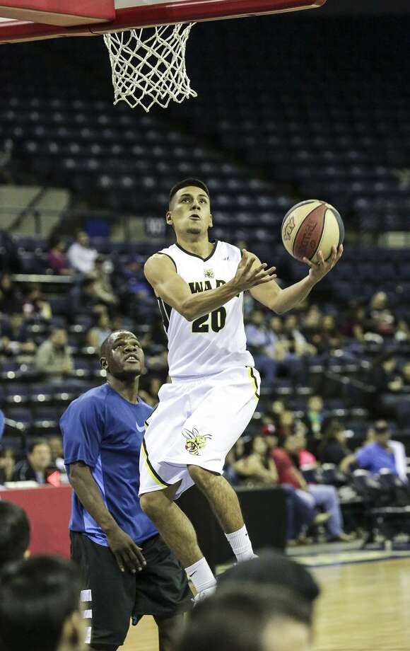 The Laredo Swarm have extended their online registration deadline by one day through Wednesday to tryout for the 2017-18 team. John Garcia is one of six players with local ties to play for the Swarm in two and a half years. Photo: Victor Strife / Laredo Morning Times File / Laredo Morning Times