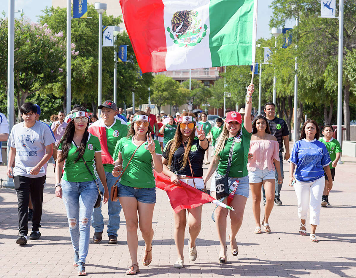 San Antonio's soccer community showed up to the Alamodome for a Sunday showdown between Mexico and Curacao on July 16, 2017. At the end of the day, Mexico beat Curacao 2-0 to win CONCACAFGroup C.