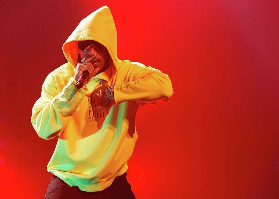 """Future: Atlanta rapper released back-to-back No. 1 albums this year, """"Hndrxx"""" and """"Future,"""" and has one of the year's hottest singles in """"Mask Off."""" Photo: Andrew Chin /Getty Images / 2017 Andrew Chin"""