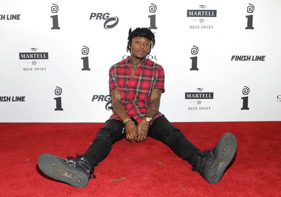 "Rapper J.I.D. released his album""The Never Story"" on J. Cole's label and followed it up with a new single, ""Hasta Luego."" J.I.D. was on the River Walk Wednesday and invited fans to come ""say hi"" ahead of his San Antonio show. Photo: Jerritt Clark /Getty Images For Interscope Records / 2017 Jerritt Clark"