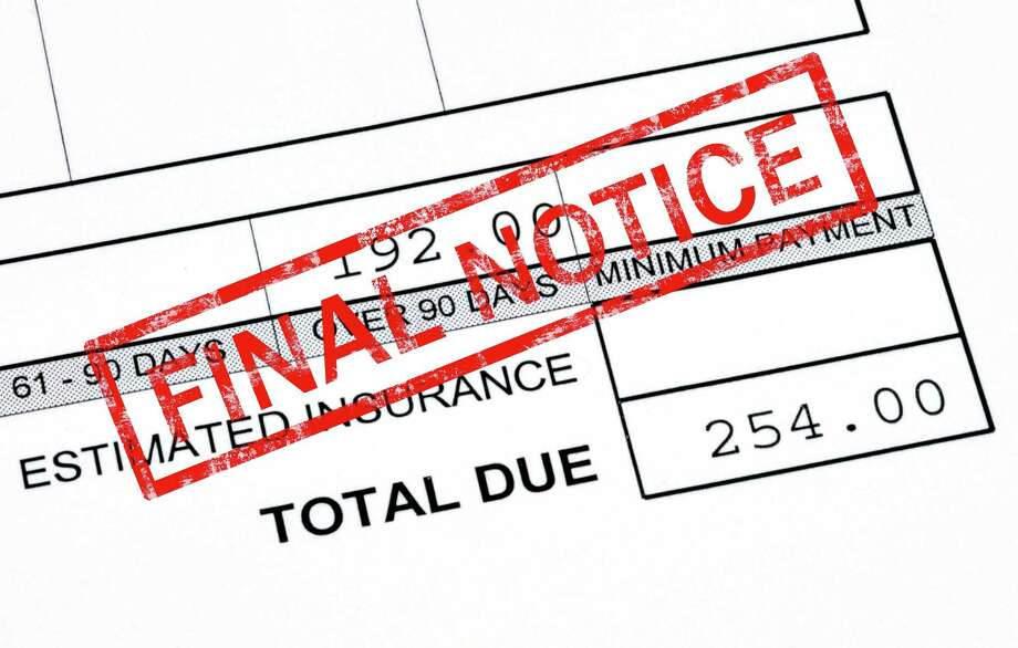 If a debt collection agency tells you you owe money, the Connecticut Better Business Bureau suggests getting proof of that you actually owe a debt before you pay up. (Stephen Vanhorn/Dreamstime/TNS) Photo: Stephen Vanhorn /Dreamstime / TNS / Kaiser Health News