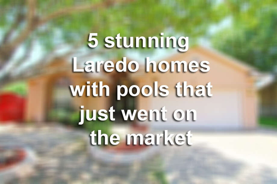 Click through this gallery to see 5 stunning homes with pools that just went on the market in Laredo.
