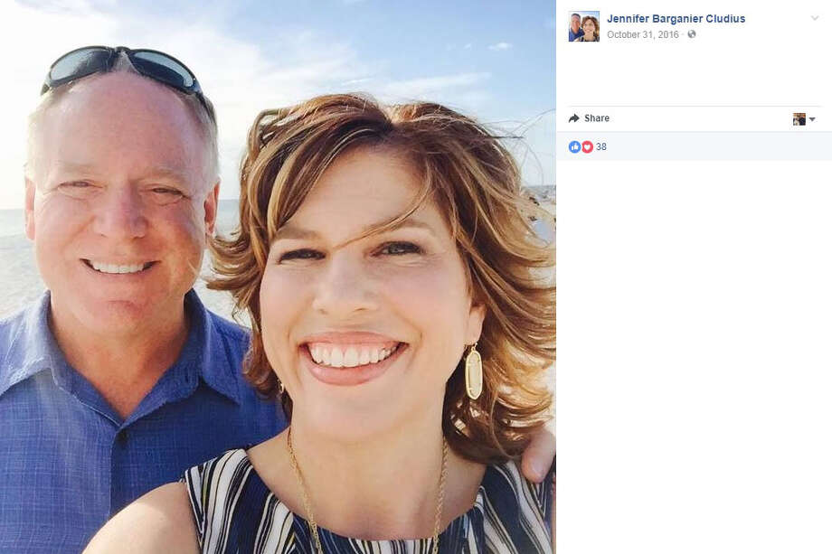 Jennifer Cludius, right, was killed in Waco July 11, 2017 in a vehicle collision. She was 43. Photo: Facebook/Jennifer Barganier Cludius