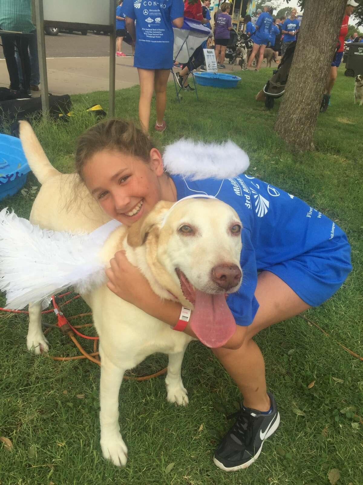 Hot Dog Run: Lexi Mazarakes with Bella