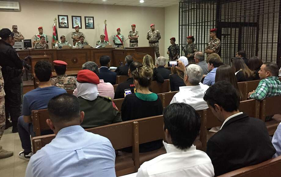 A military court convenes in Amman, Jordan, in the case of a Jordanian soldier sentenced to life in prison for fatally shooting three U.S. military trainers at the gate of an air base. Photo: Omar Akour, Associated Press