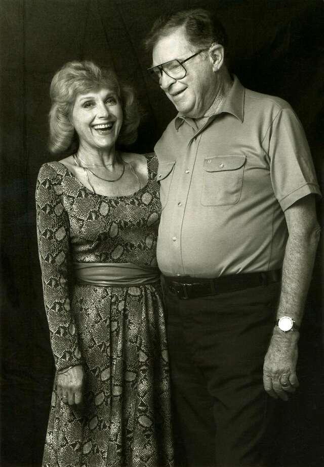 Film researcher Lillian Michelson and storyboard artist Harold Michelson. Photo: Zeitgeist Films, The Washington Post
