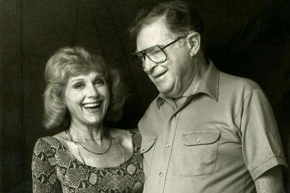 Film researcher Lillian Michelson and storyboard artist Harold Michelson. (MUST CREDIT: Zeitgeist Films)
