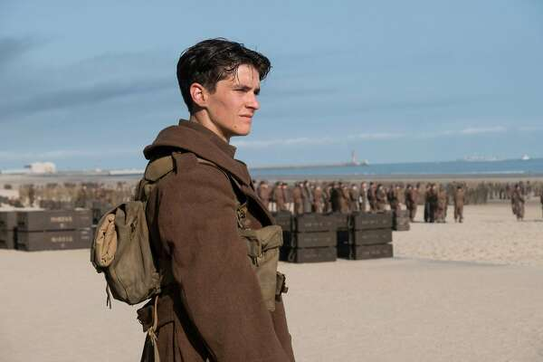 "Fionn Whitehead in ""Dunkirk."" (Melinda Sue Gordon/Warner Bros.)"