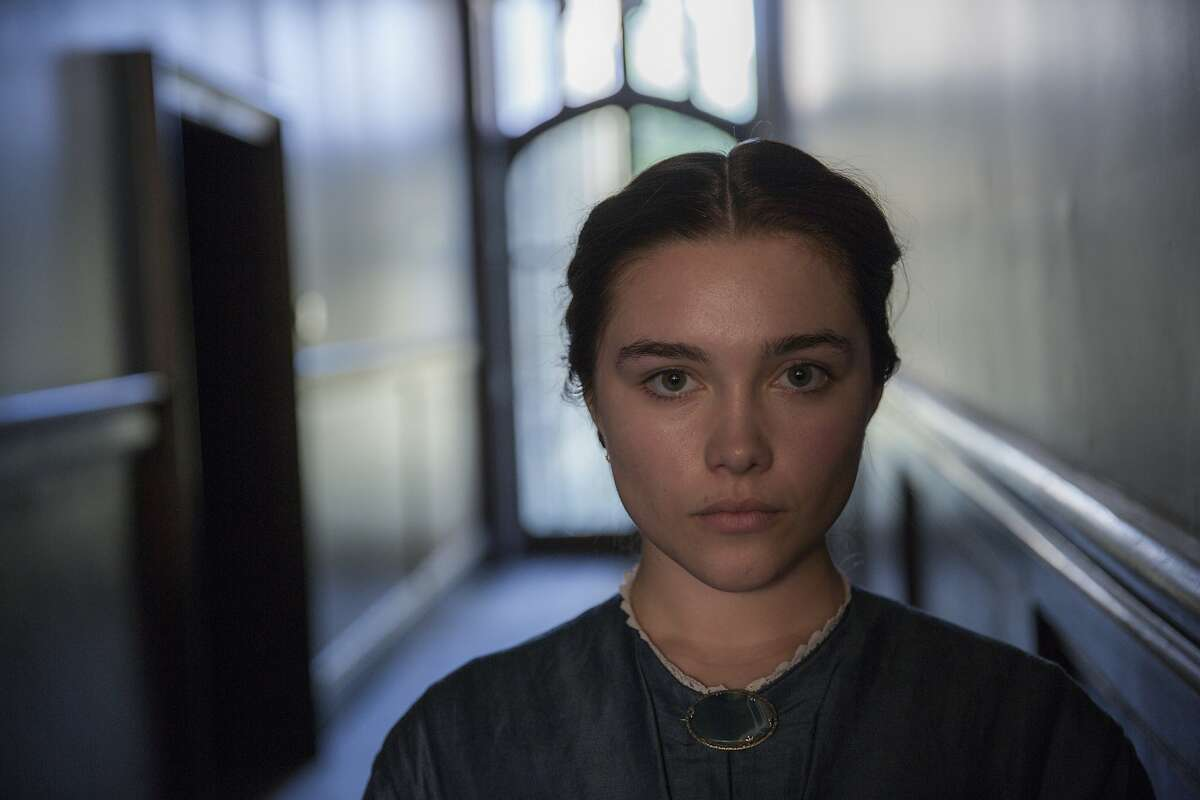 """This image released by Roadside Attractions shows Florence Pugh in """"Lady Macbeth."""" (Laurie Sparham/Roadside Attractions via AP)"""