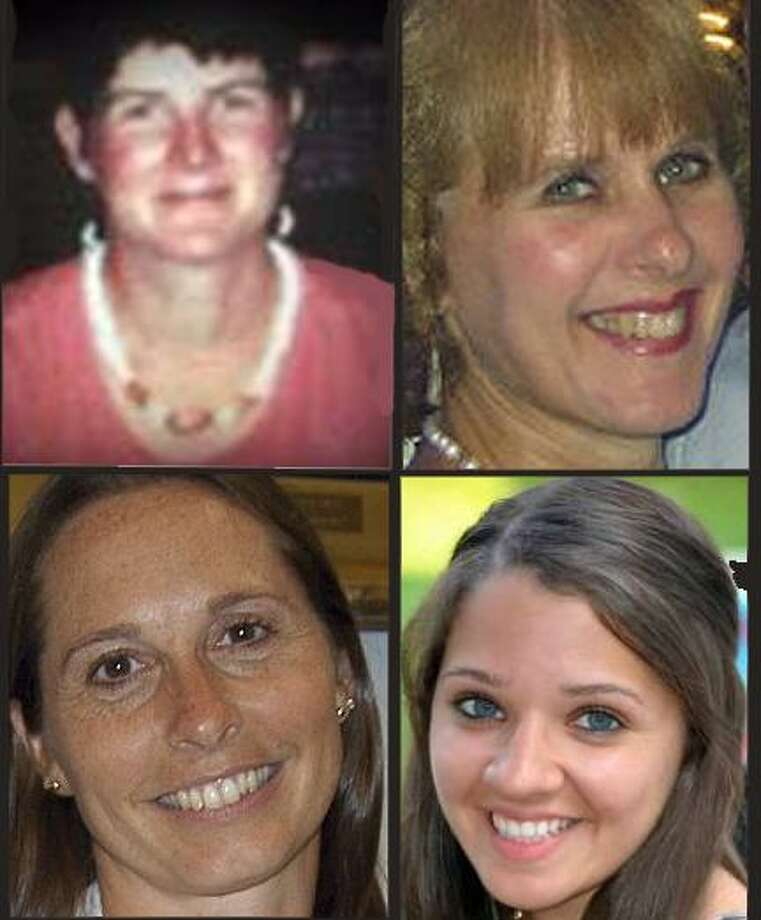 From top left, Anne Marie Murphy, Mary Sherlach, Dawn Lafferty Hochsprung and Victoria Soto.