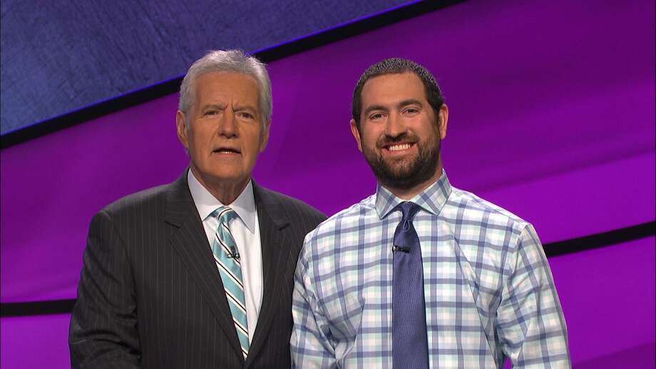 Graydon Mears, an analytics director in San Antonio, will join host Alex Trebek on 'Jeopardy' today, when he'll compete for potentially big money. Photo: Courtesy Of 'Jeopardy'